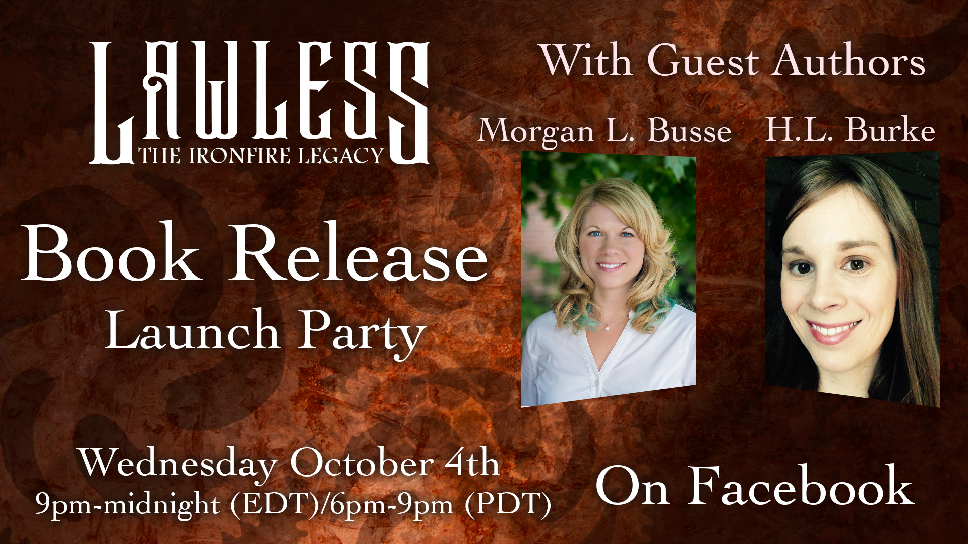 Lawless Launch Party Banner