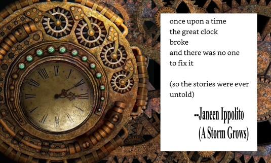 clock poem