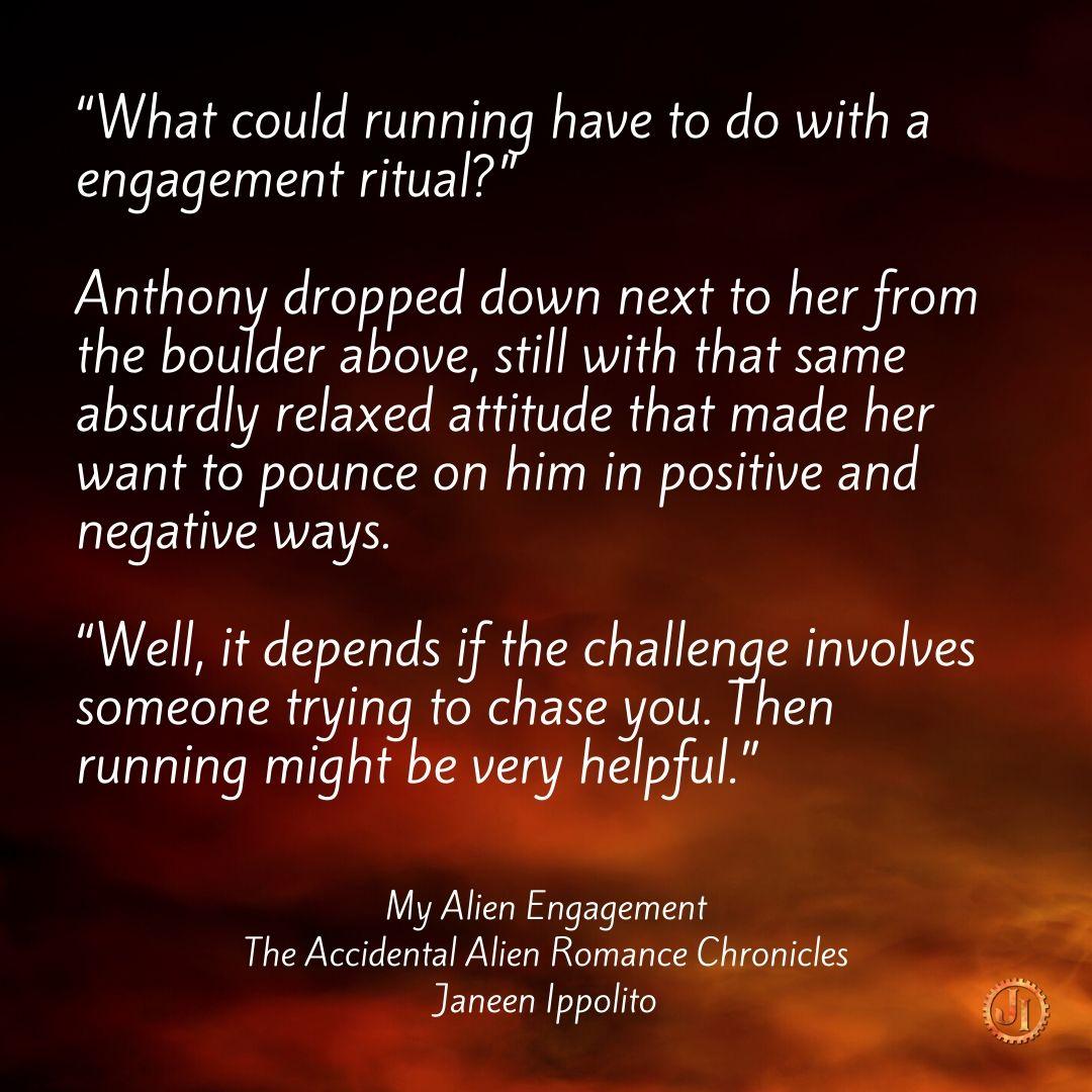 My Alien Engagement - Quote 1